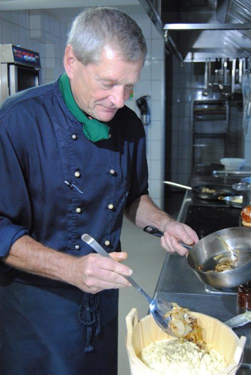 Küchenchef Jürgen Wagenblast