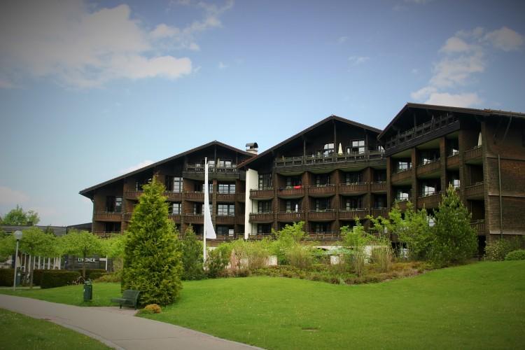 Lindner Parkhotel & Spa Außenansicht