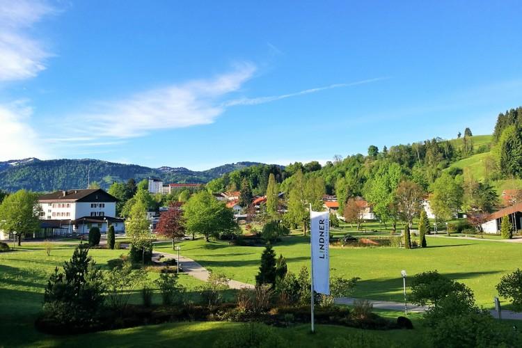 Lindner Parkhotel & Spa Ausblick
