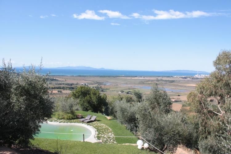 Relais Vedetta mit Blick nach Elba
